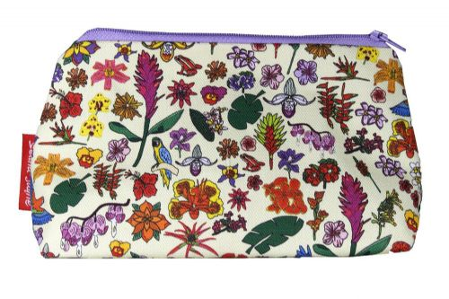 Selina-Jayne Tropical Flowers Limited Edition Designer Cosmetic Bag